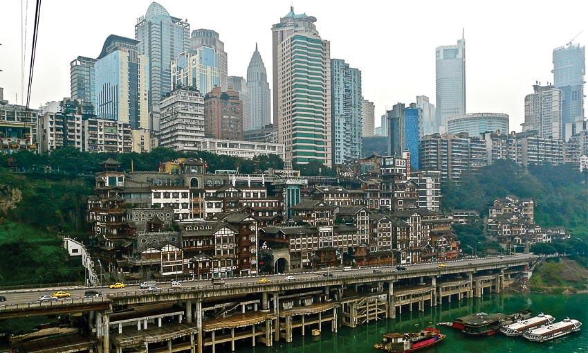 Lạc bước ở Trùng Khánh