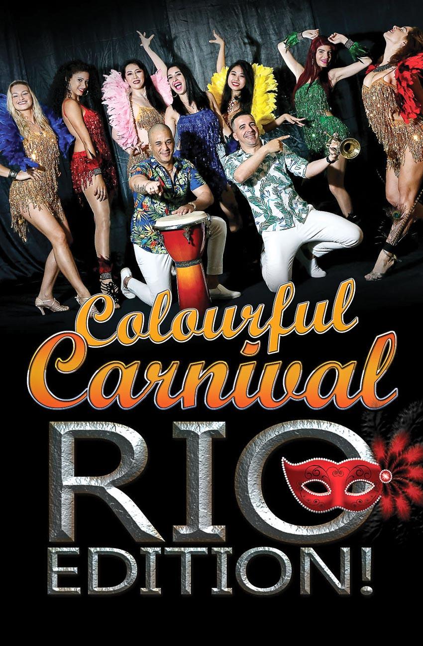 Lễ hội Carnival đa sắc màu theo phiên bản Rio