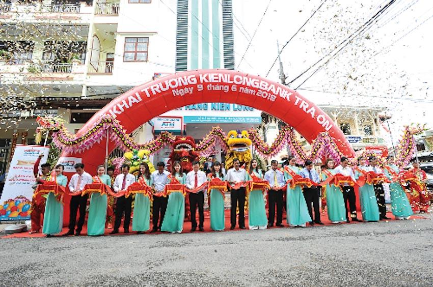 Kienlongbank khai trương điểm giao dịch thứ 120