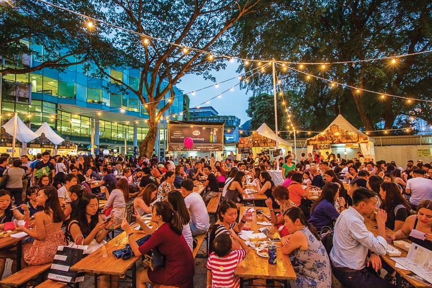 Khơi dậy giác quan với lễ hội ẩm thực singapore