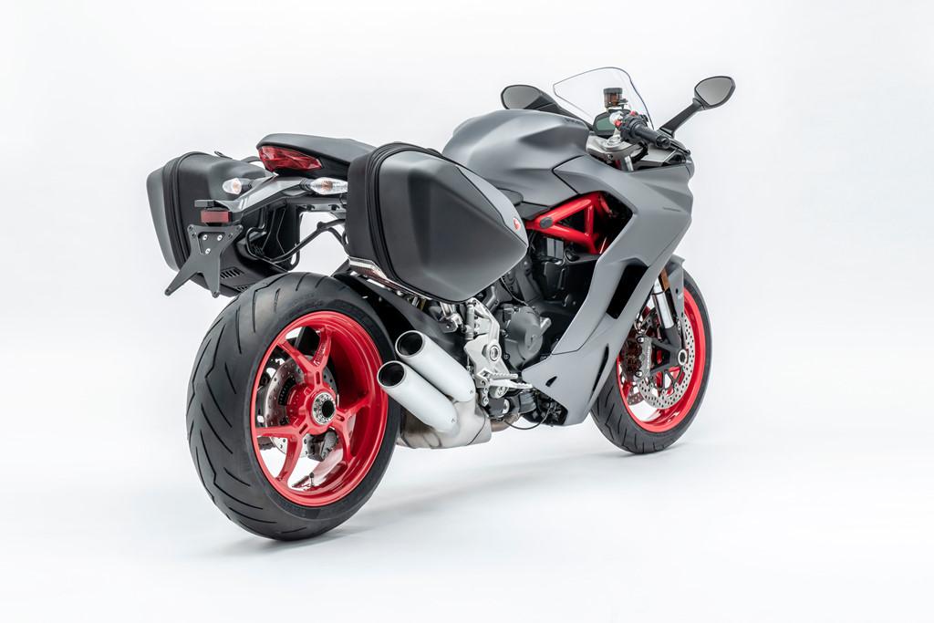 Ducati SuperSport 2019 thay áo mới, mạnh mẽ và thanh lịch với xám titanium