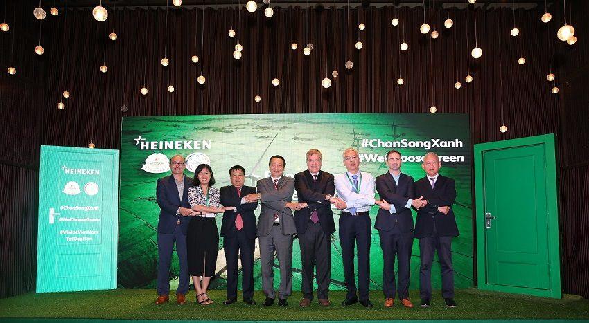 Heineken giới thiệu Báo cáo phát triển bền vững 2017