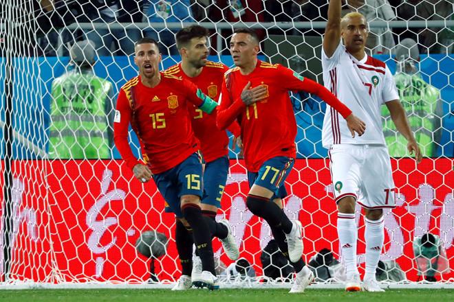 """Đêm đáng quên với CR7 và phút thót tim của """"Bò tót"""" Tây Ban Nha"""