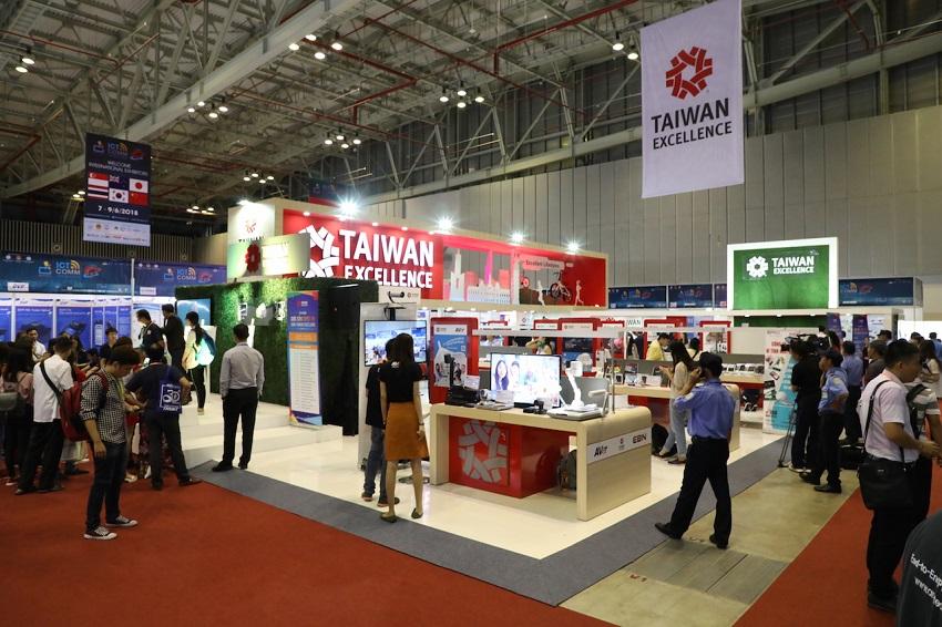 Taiwan Excellence tham gia triển lãm Vietnam ICT COMM 2018