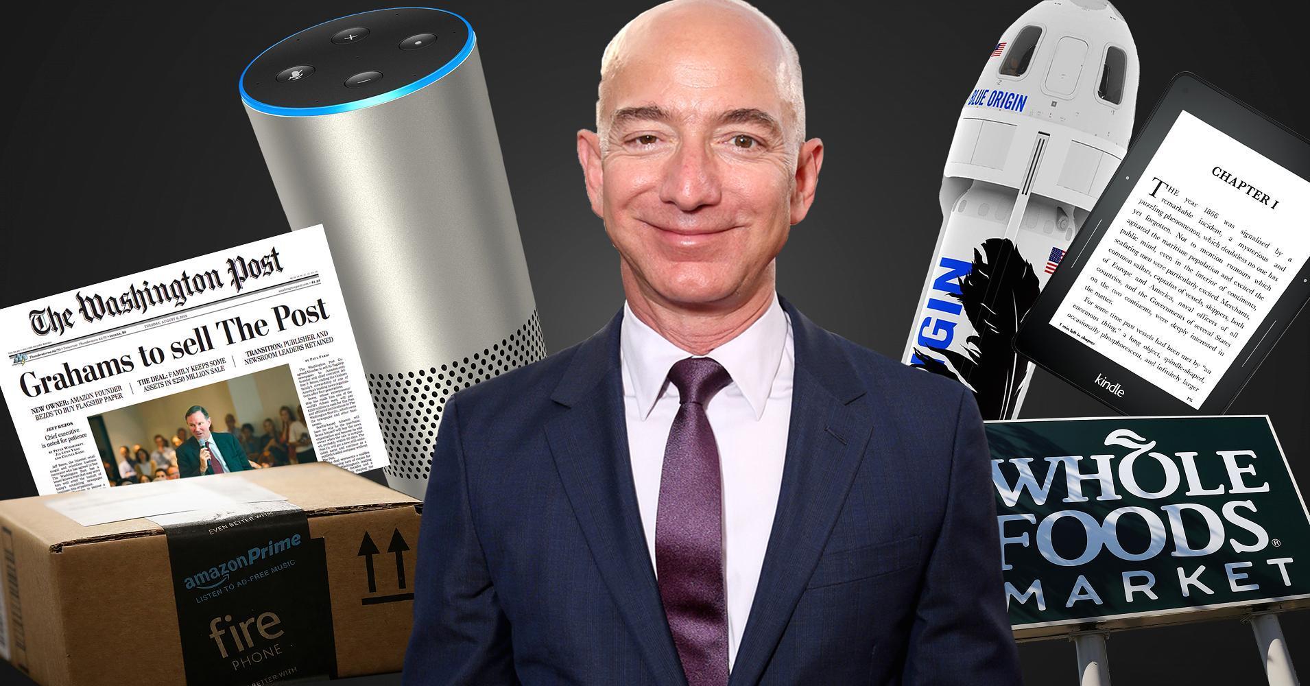 Tài sản ông chủ Amazon lần đầu vượt mốc 140 tỷ USD