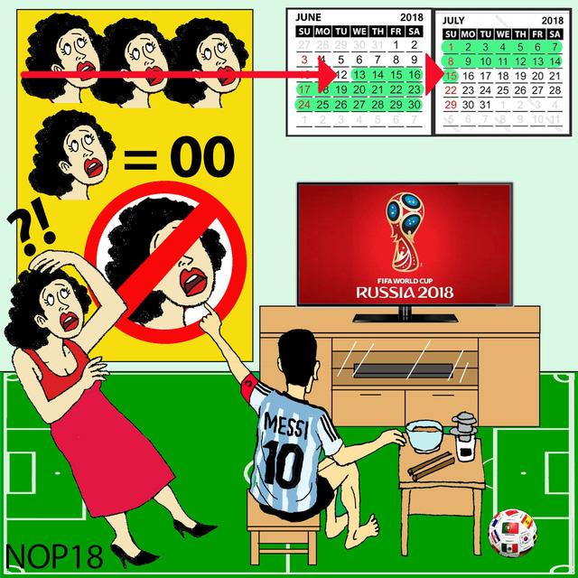 World cup: Tivi là của anh