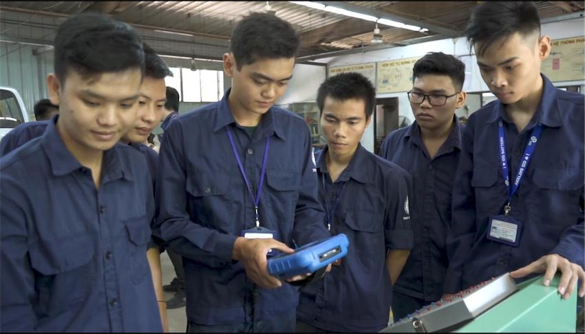 """Quỹ Toyota Việt Nam thông báo tuyển sinh Chương trình """"Học bổng dạy nghề Toyota"""""""