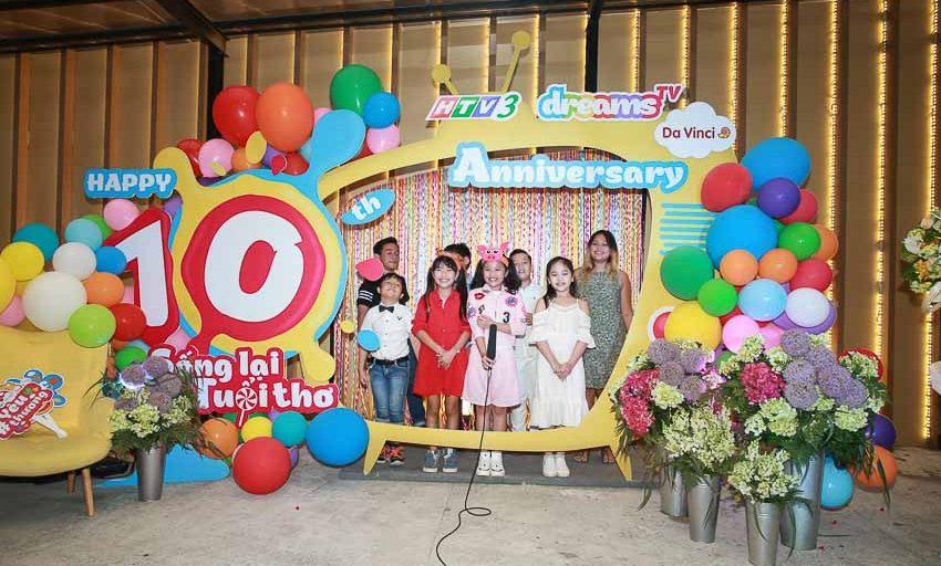 Kênh truyền hình dành cho thiếu nhi HTV3 DreamsTV kỷ niệm 10 năm