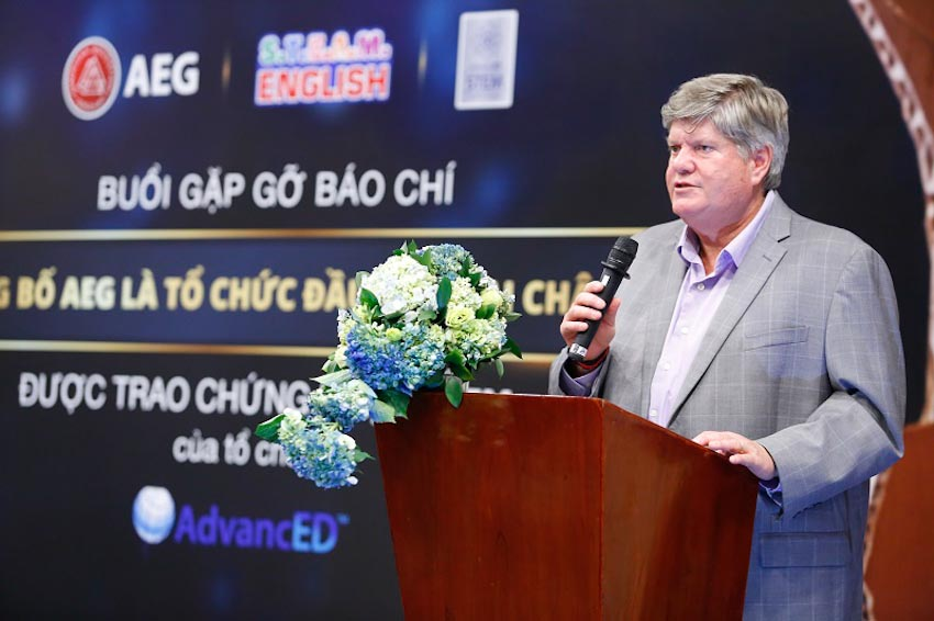 AEG - tổ chức giáo dục đầu tiên tại châu Á được trao chứng nhận STEM của AdvancED