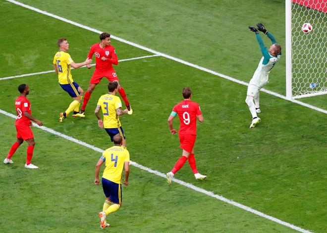 Pickford rực sáng trước Thụy Điển, Anh lịch lãm bước vào bán kết