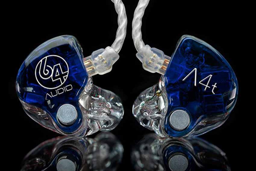 64 Audio ra mắt bộ đôi tai nghe In-ear CIEM mới A4t và A6t