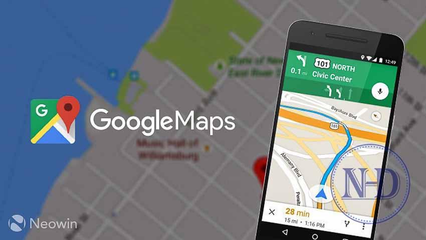 Google Maps dành riêng cho xe máy