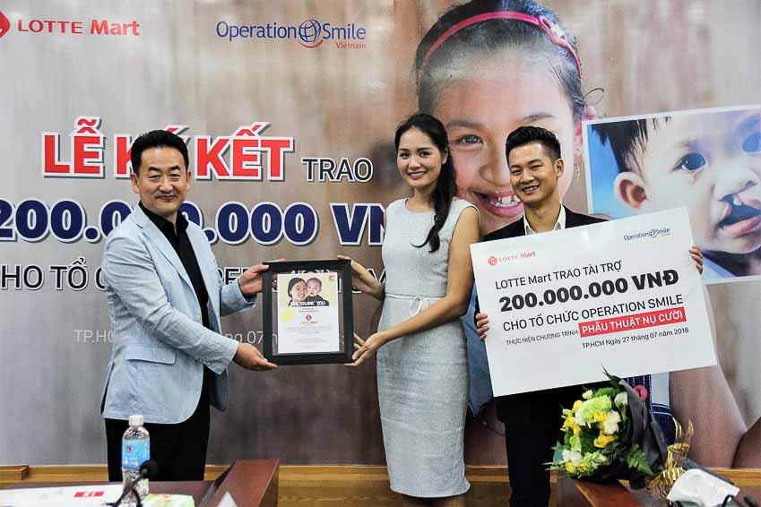 LOTTE Mart thắt chặt hợp tác cùng Operation Smile