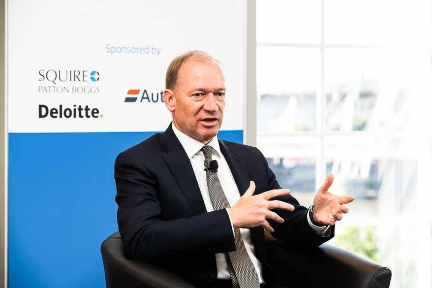 Chủ tịch của McLaren Mike Flewitt