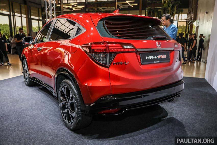 Honda HR-V nâng cấp facelift tại Malaysia, thêm bản RS thể thao, sắp về Việt Nam
