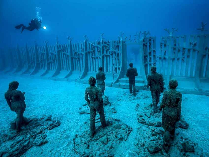 Khám phá vẻ đẹp độc đáo của những bảo tàng dưới nước