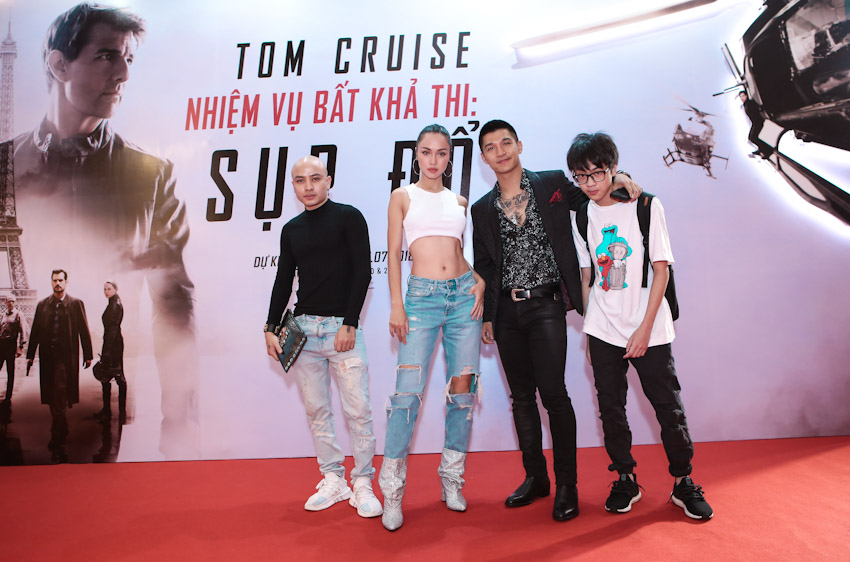 Lý Nhã Kỳ cùng nhiều sao Việt đến với buổi công chiếu bộ phim Nhiệm Vụ Bất Khả Thi: Sụp Đổ