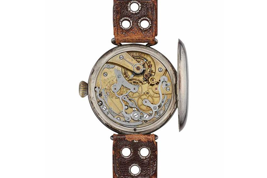 """Omega ra mắt đồng hồ """"First Omega Wrist-Chronograph"""" trang bị bộ máy 18""""' CHRO huyền thoại"""