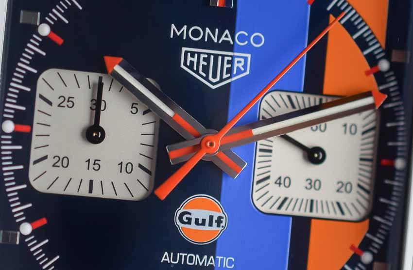 TAG Heuer Monaco - cỗ máy thời gian cảm hứng từ đường đua tốc độ