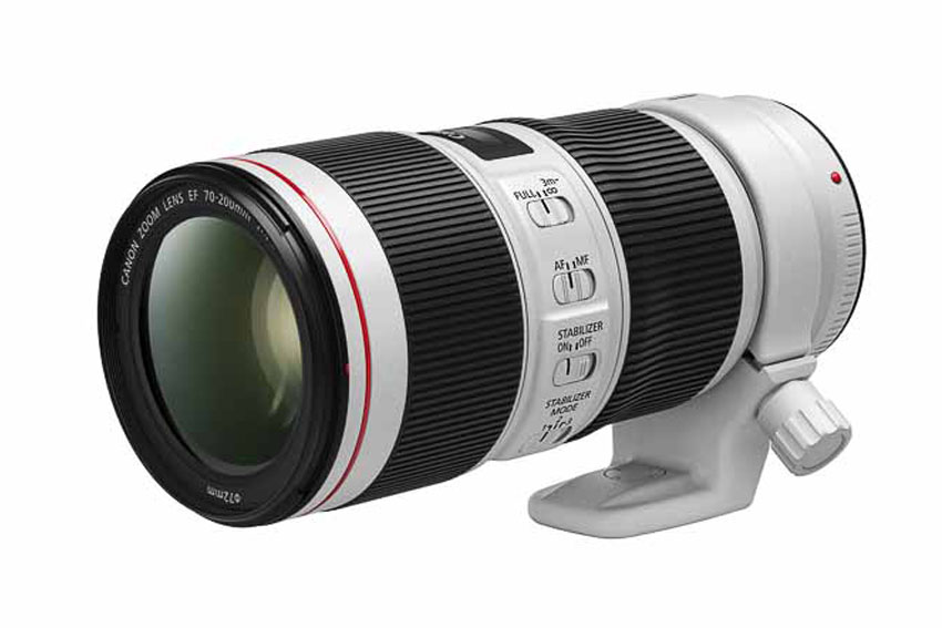 Hai ống kính tiêu cự dài mới của Canon