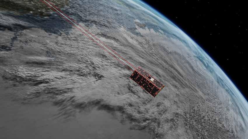 Laser vệ tinh mới của NASA theo dõi sự thay đổi khí hậu Trái Đất
