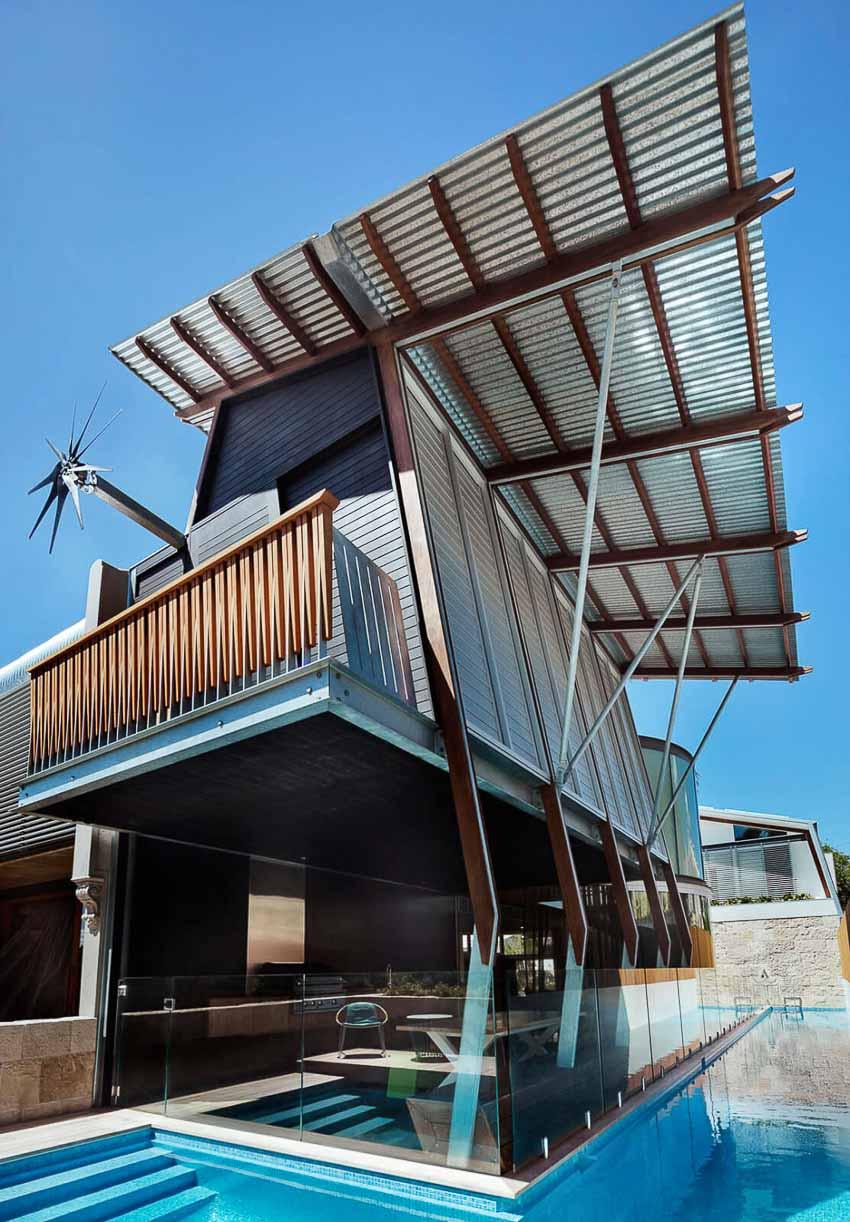 Khám phá ngôi nhà ngoại ô Sydney với những khoảng sân tràn nắng đầy gió