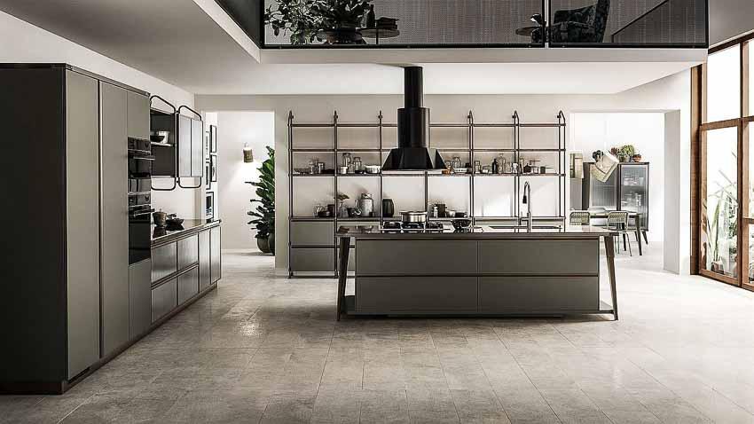 Mê mẩn cả ngày trong gian bếp đẹp từ Diesel và Scavolini