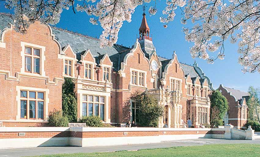 Những ngôi trường làm nên thương hiệu cho thành phố Christchurch