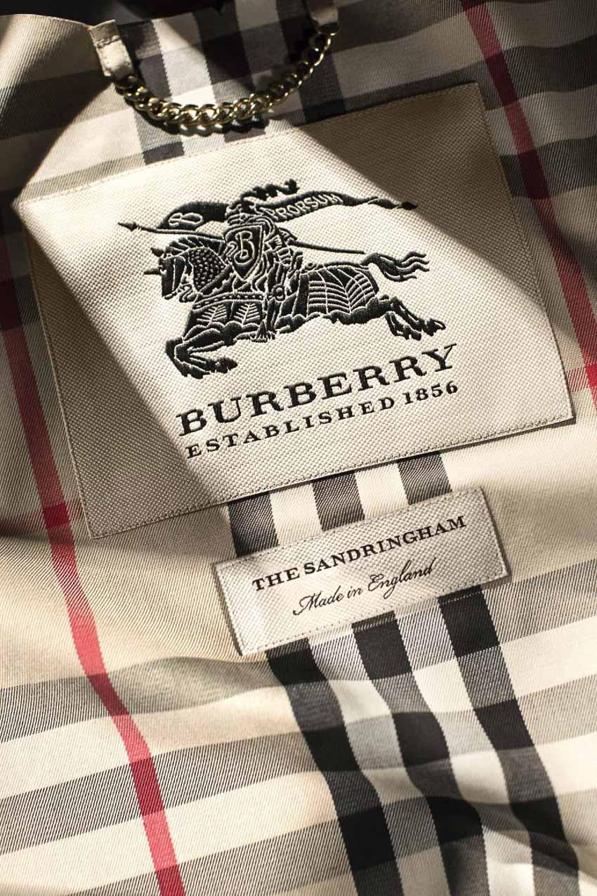 Burberry - biểu tượng thời trang Anh quốc