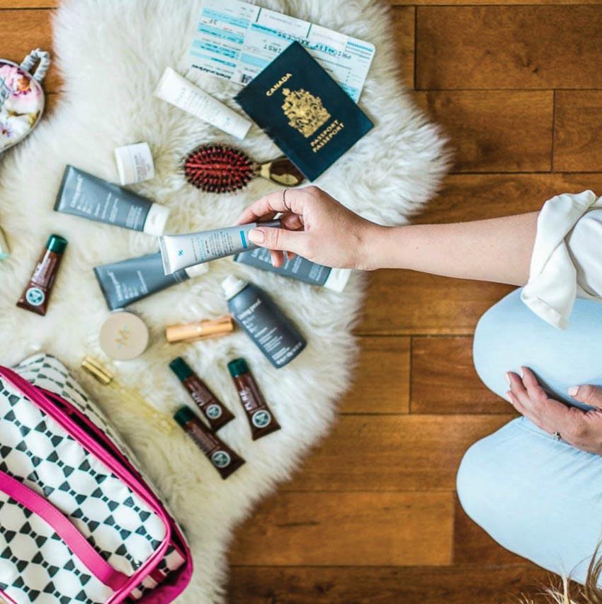 Chăm sóc da khi đi du lịch