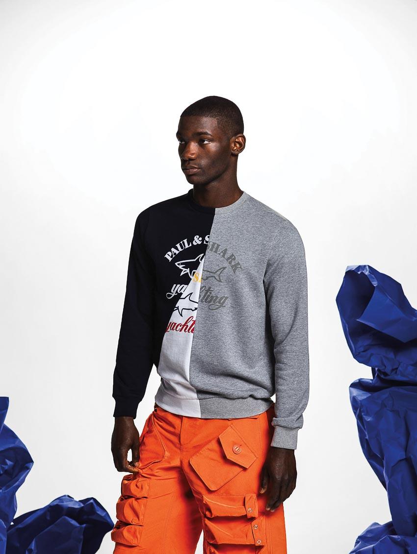 Sự kết hợp hoàn hảo giữa Nick Wooster và thương hiệu thời trang Paul & Shark