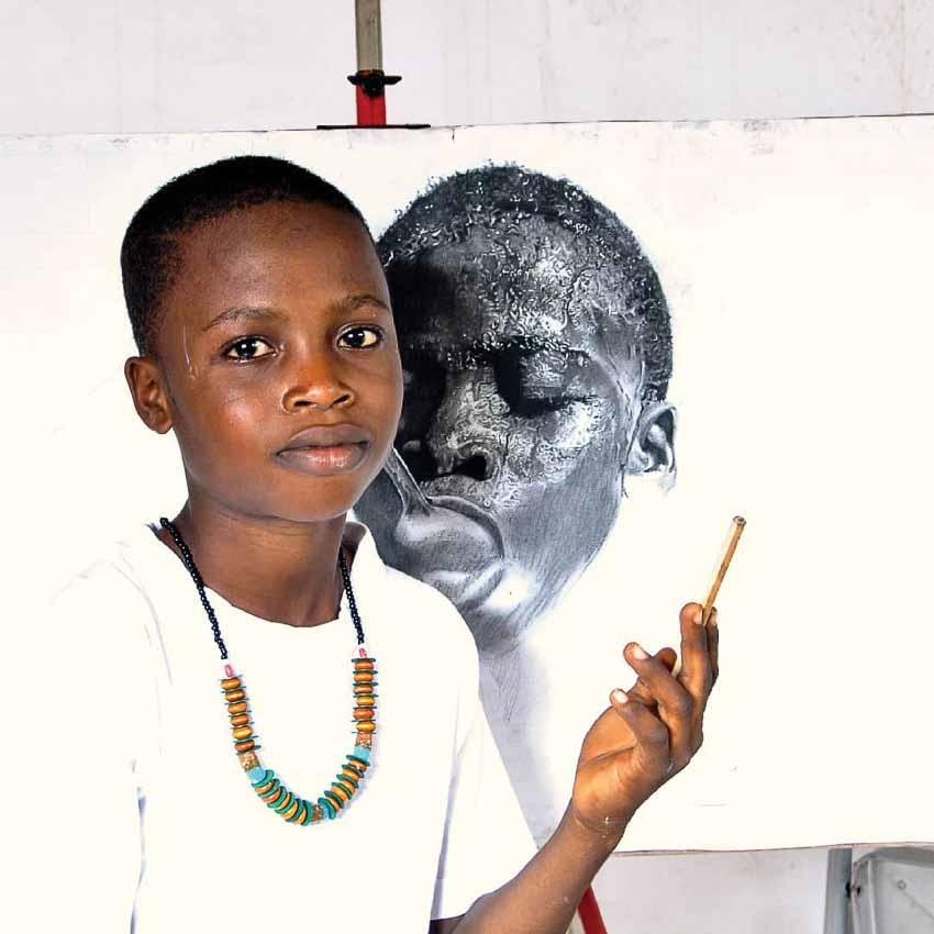Olamilekan - tài không đợi tuổi