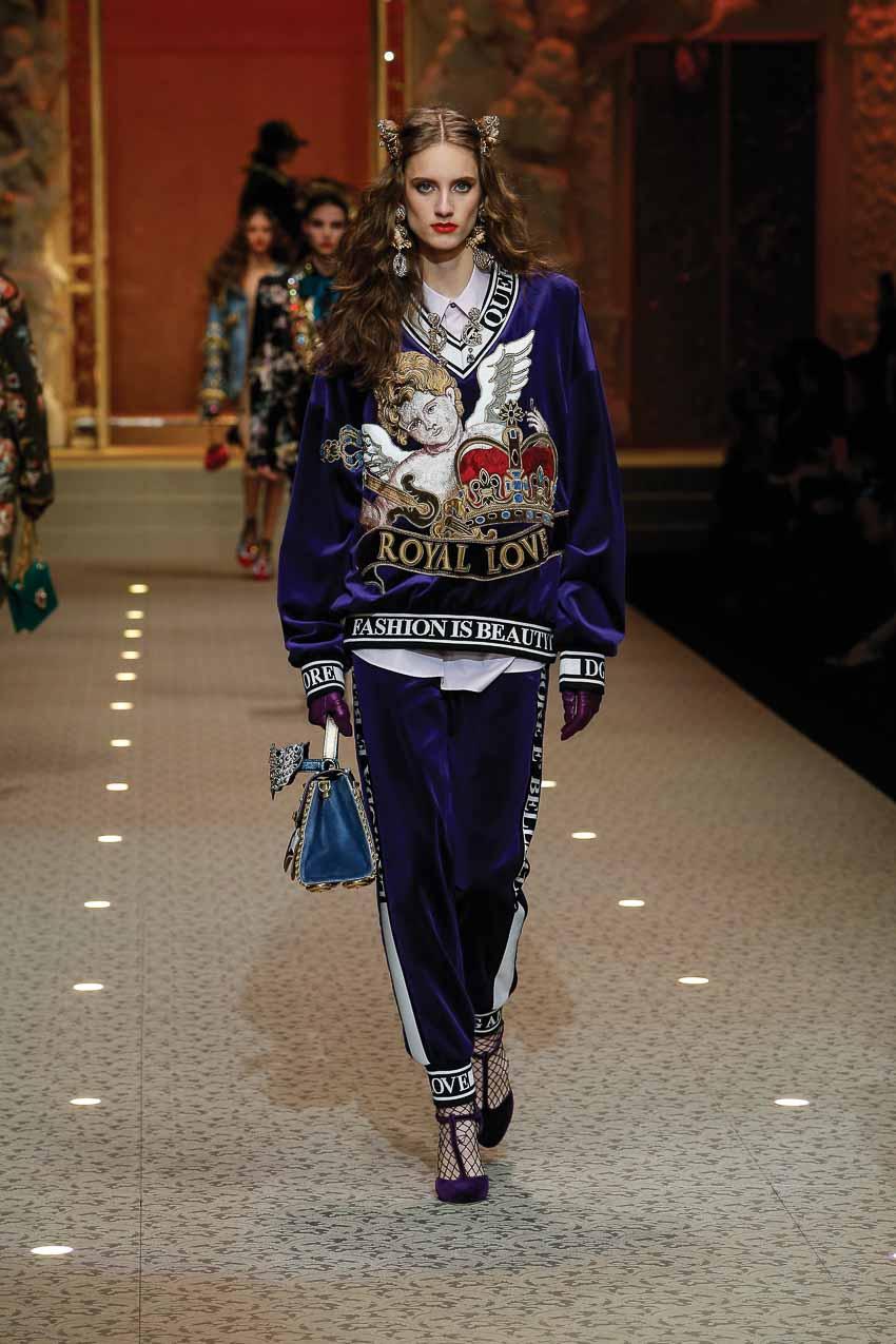 BST Thu-Đông FW18 của Dolce và Gabbana dành cho phái đẹp