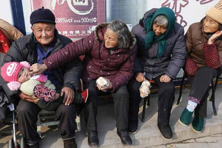 Lo ngại dân số bị lão hóa tại Trung Quốc