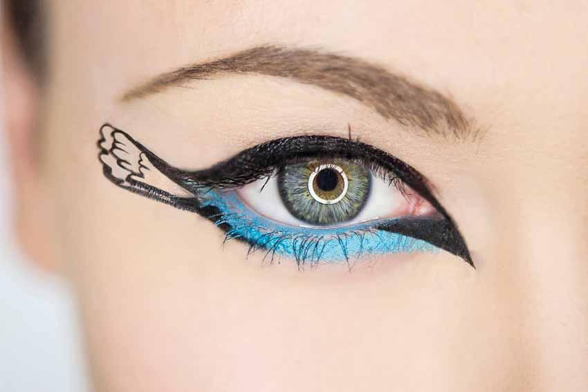 4 phong cách trang điểm mắt độc đáo