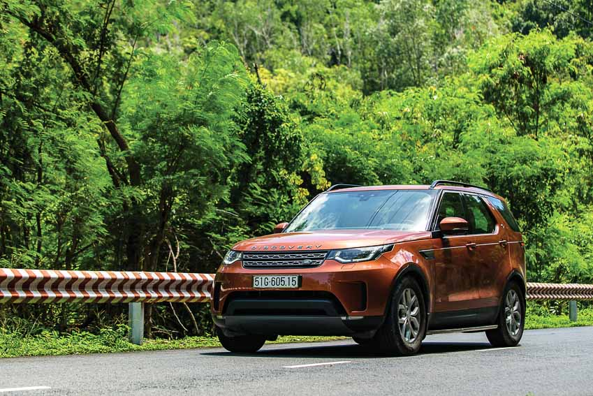 Land Rover Discovery 2018: SUV hạng sang đa năng