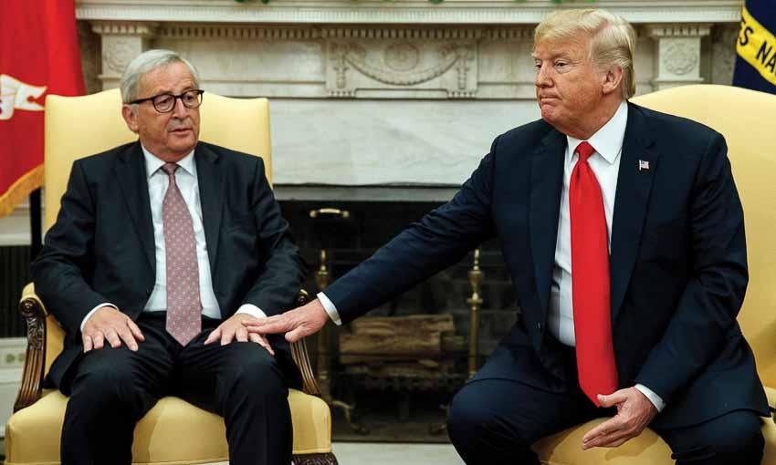 Mỹ lùi bước trước EU