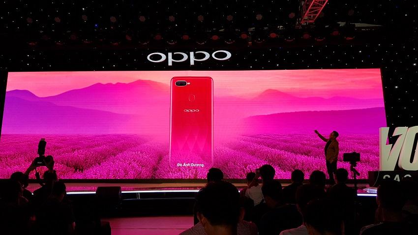 OPPO F9, sạc nhanh VOOC, camera kép, giá 7,69 triệu-12