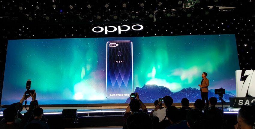 OPPO F9, sạc nhanh VOOC, camera kép, giá 7,69 triệu-15