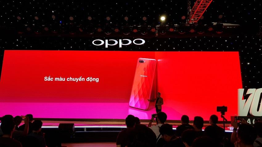 OPPO F9, sạc nhanh VOOC, camera kép, giá 7,69 triệu-9