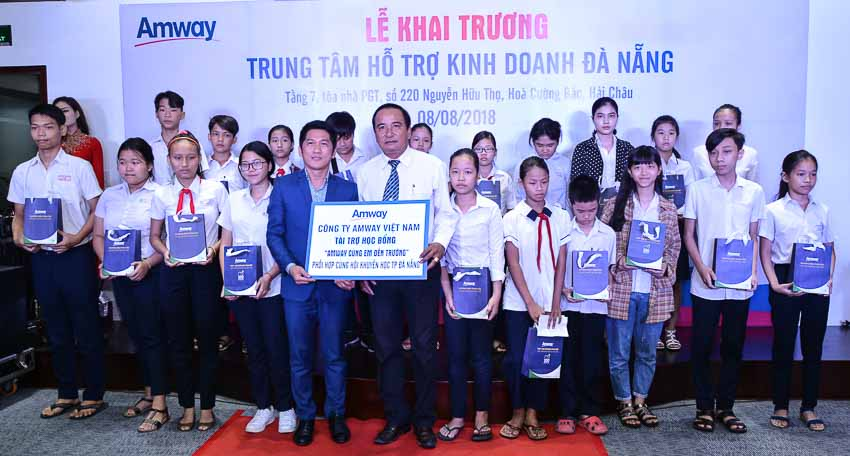 Khai trương Trung tâm hỗ trợ kinh doanh của Amway tại Đà Nẵng