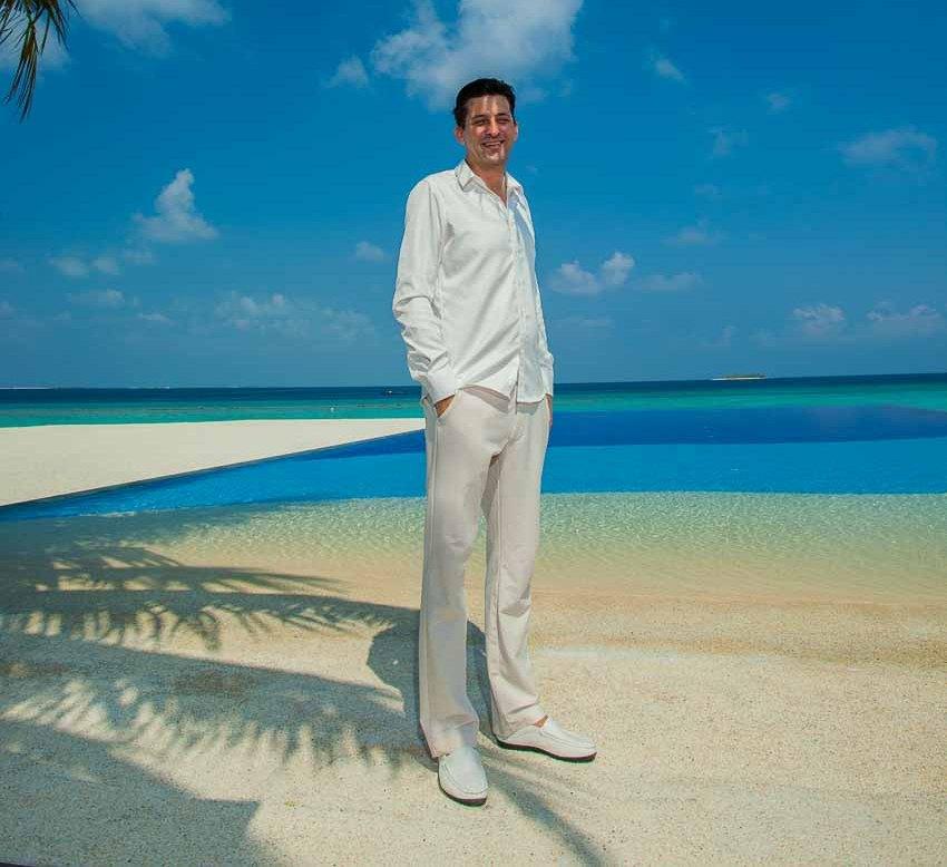 Christoph Holzapfel - tổng giám đốc của Six Senses Côn Đảo