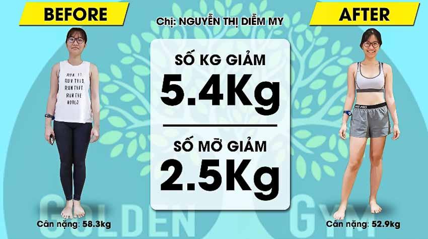 Đến Golden Gym để giảm cân theo lộ trình hợp lý