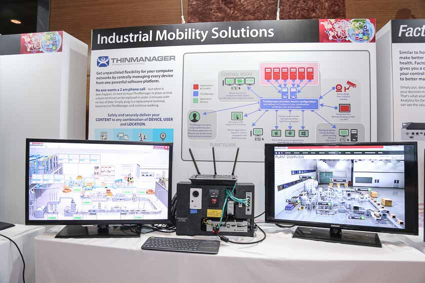 Rockwell Automation on the Move và Doanh nghiệp kết nối