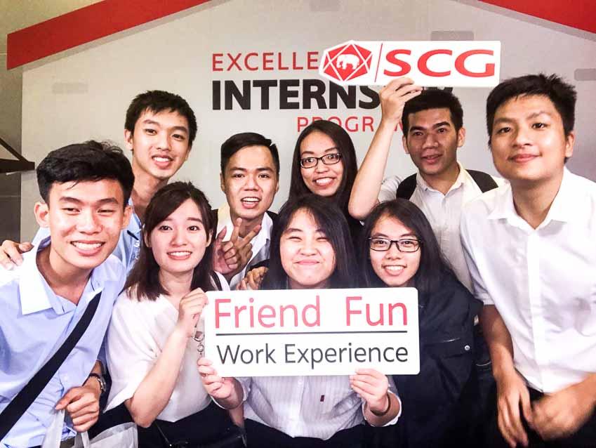 10 sinh viên tham gia chương trình SCG Thực tập sinh tài năng-3