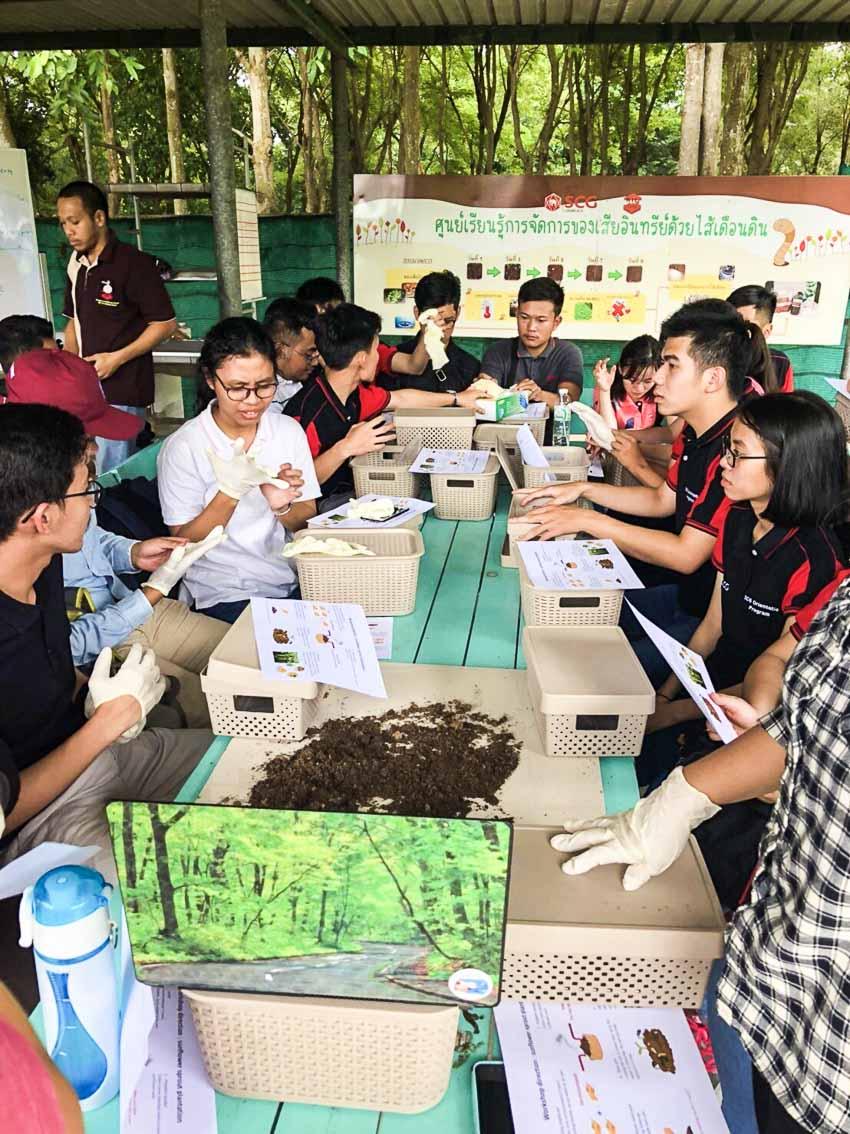 10 sinh viên tham gia chương trình SCG Thực tập sinh tài năng-12
