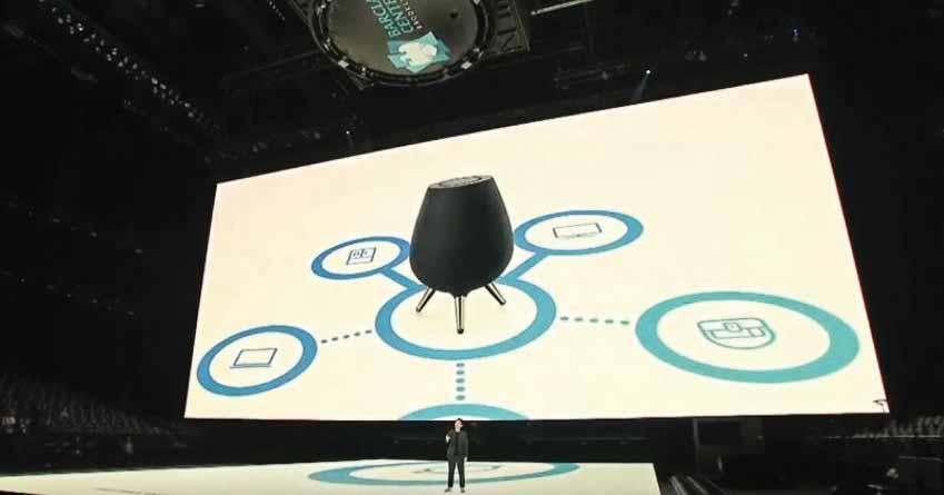 Samsung ra mắt loa thông minh Galaxy Home với trợ lý ảo Bixby