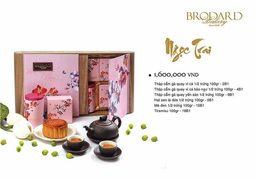 Bánh trung thu Brodard 2018