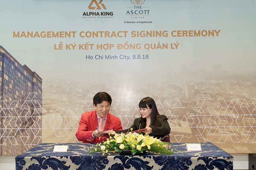 Ascott sẽ quản lý dự án căn hộ dịch vụ Ascott The Residence
