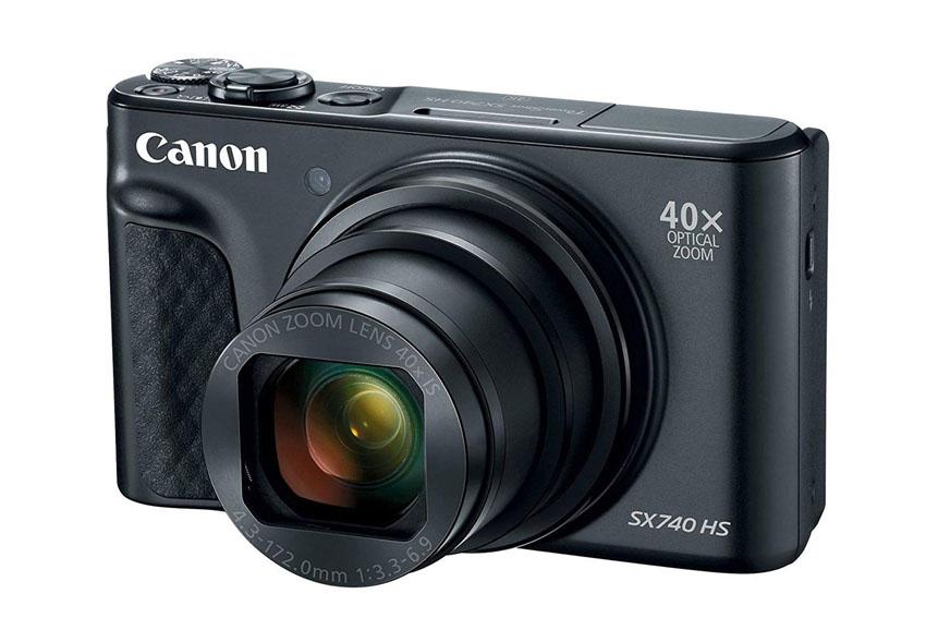 Giới thiệu máy ảnh Canon PowerShot SX740 HS